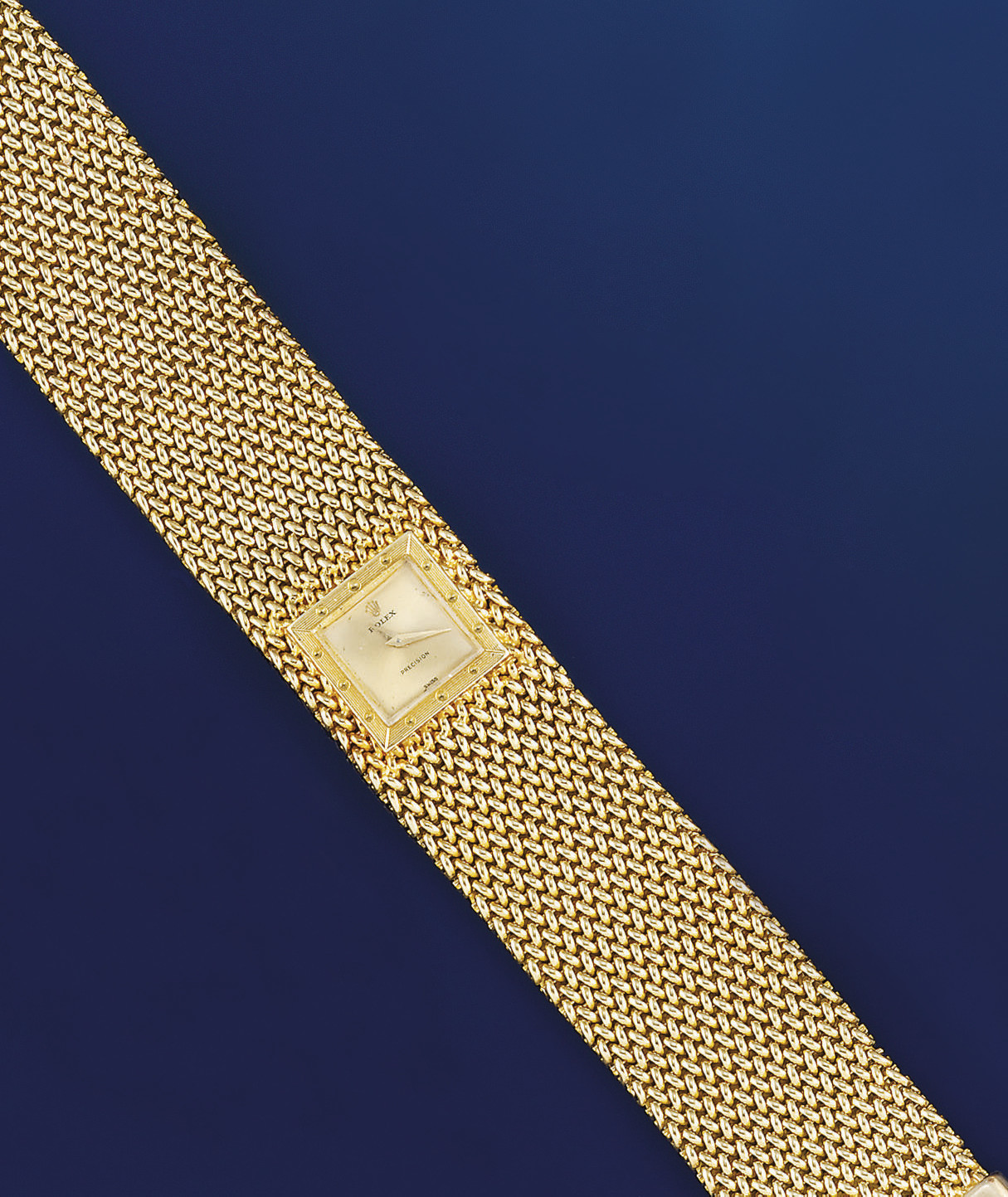 A lady's 18 ct. gold bracelet