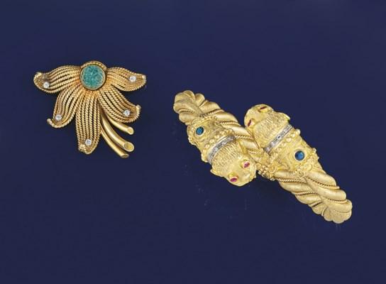 A gem-set archaeological style