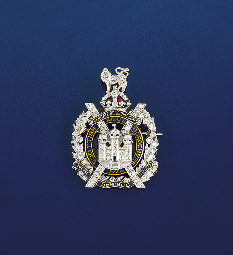 A diamond and enamel regimenta