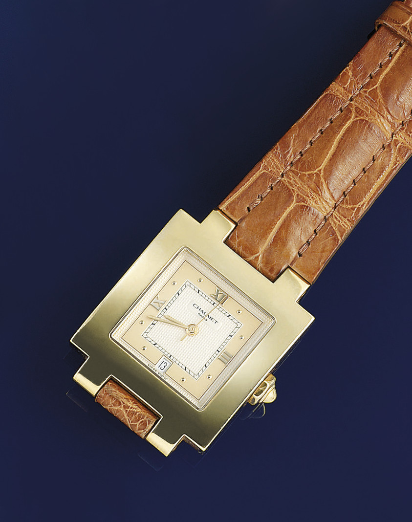 An automatic wristwatch, by Ch