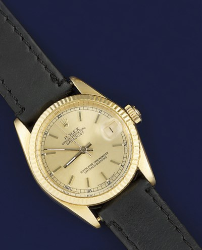 An 18ct. gold automatic wristw