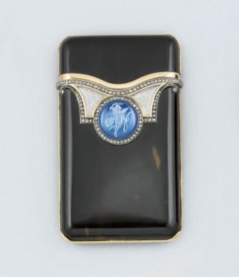 An early 20th century diamond-