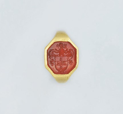 A late 17th/early 18th gold an