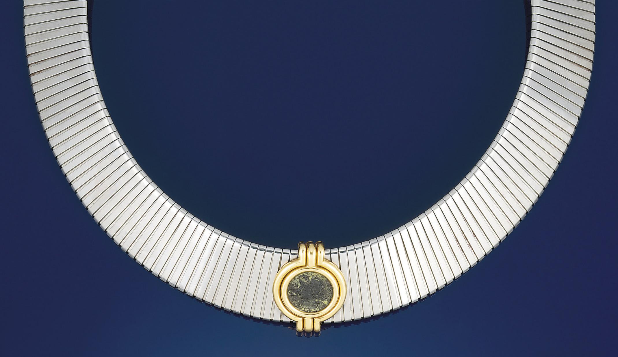 A 'Tubogas' necklace by Bulgar