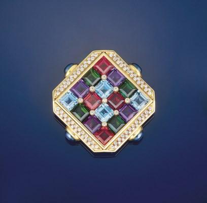 A diamond and multi-gem