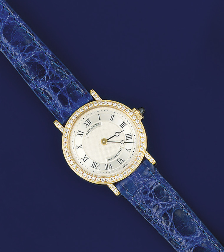A lady's wristwatch, by Bregue
