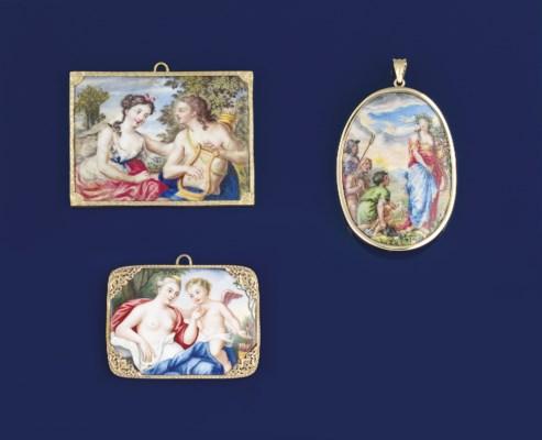 Three early 19th century Swiss