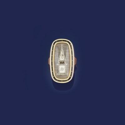 A George III gold and diamond