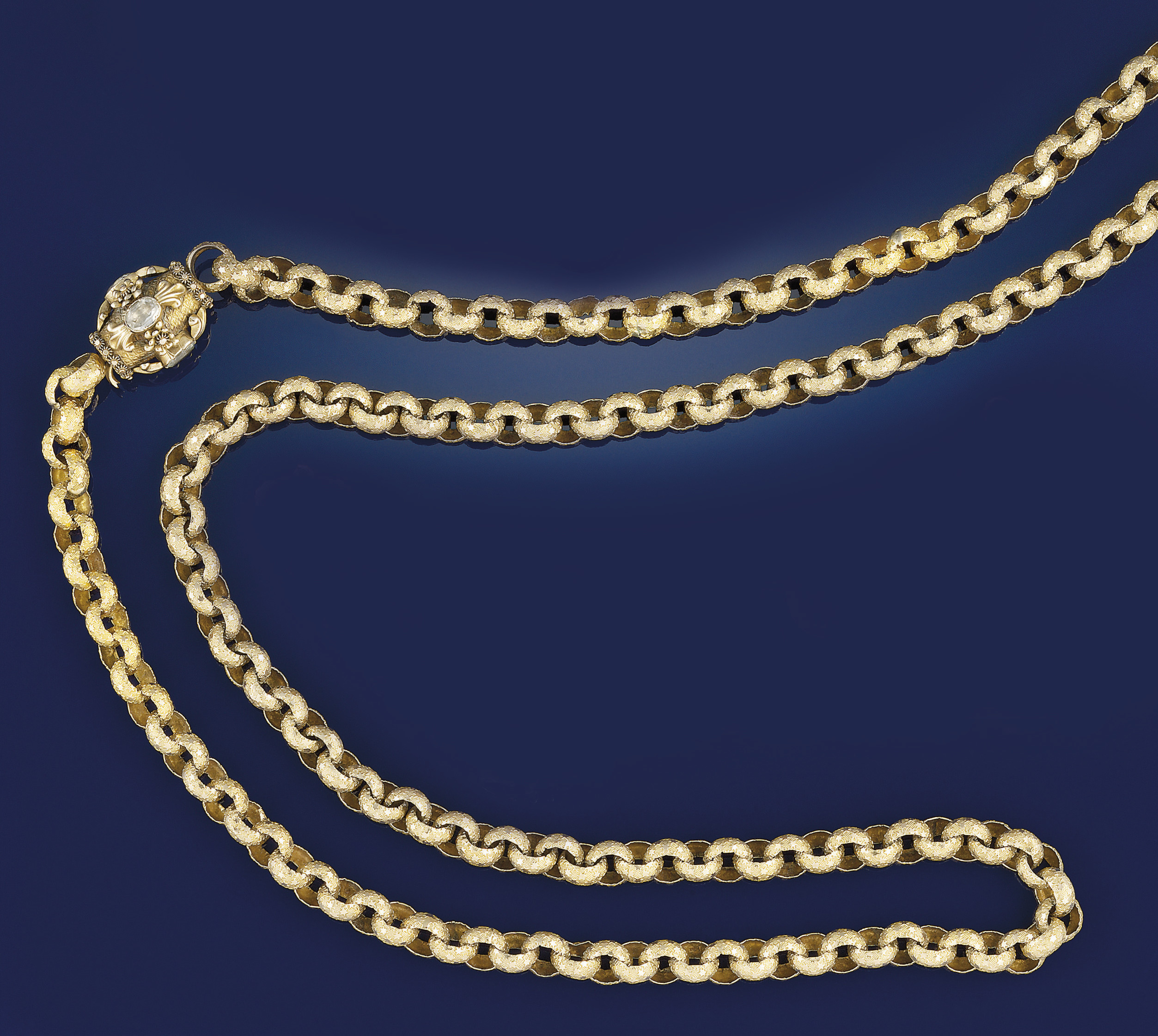 An early 19th century gold gua