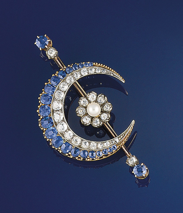 A late 19th century sapphire,