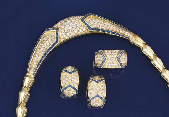 A suite of diamond and sapphir