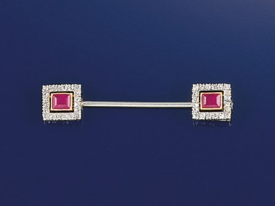 A French, Art Deco diamond and