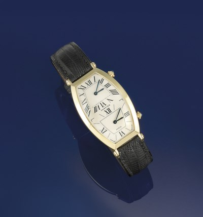 A quartz dual time wristwatch,