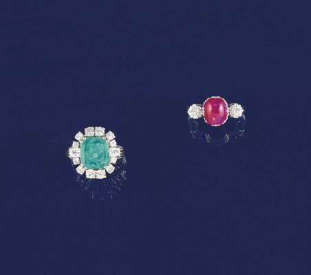 Two gems rings