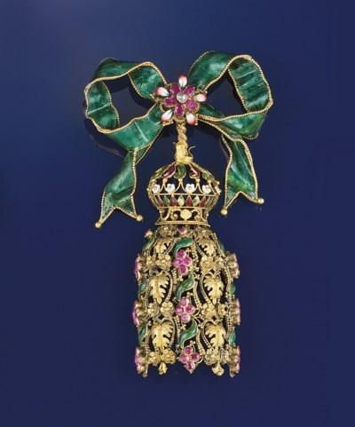 A mid 19th century gold, diamo