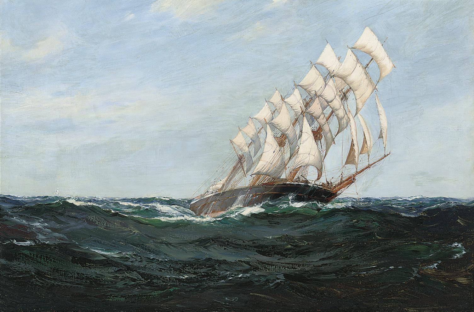 Montague Dawson, R.M.S.A., F.R