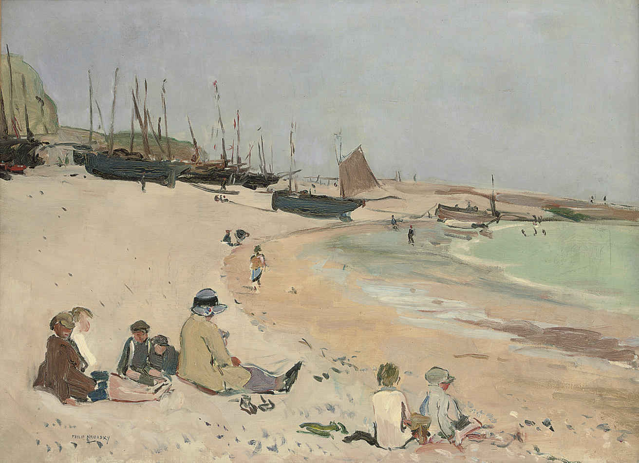 The Beach, Hastings