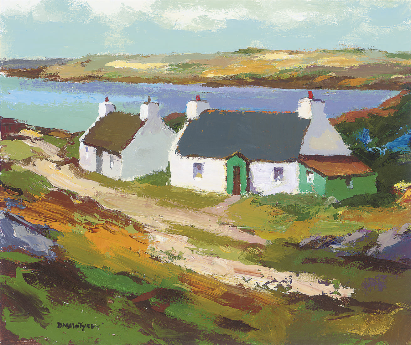 Two Cottages by the Sea