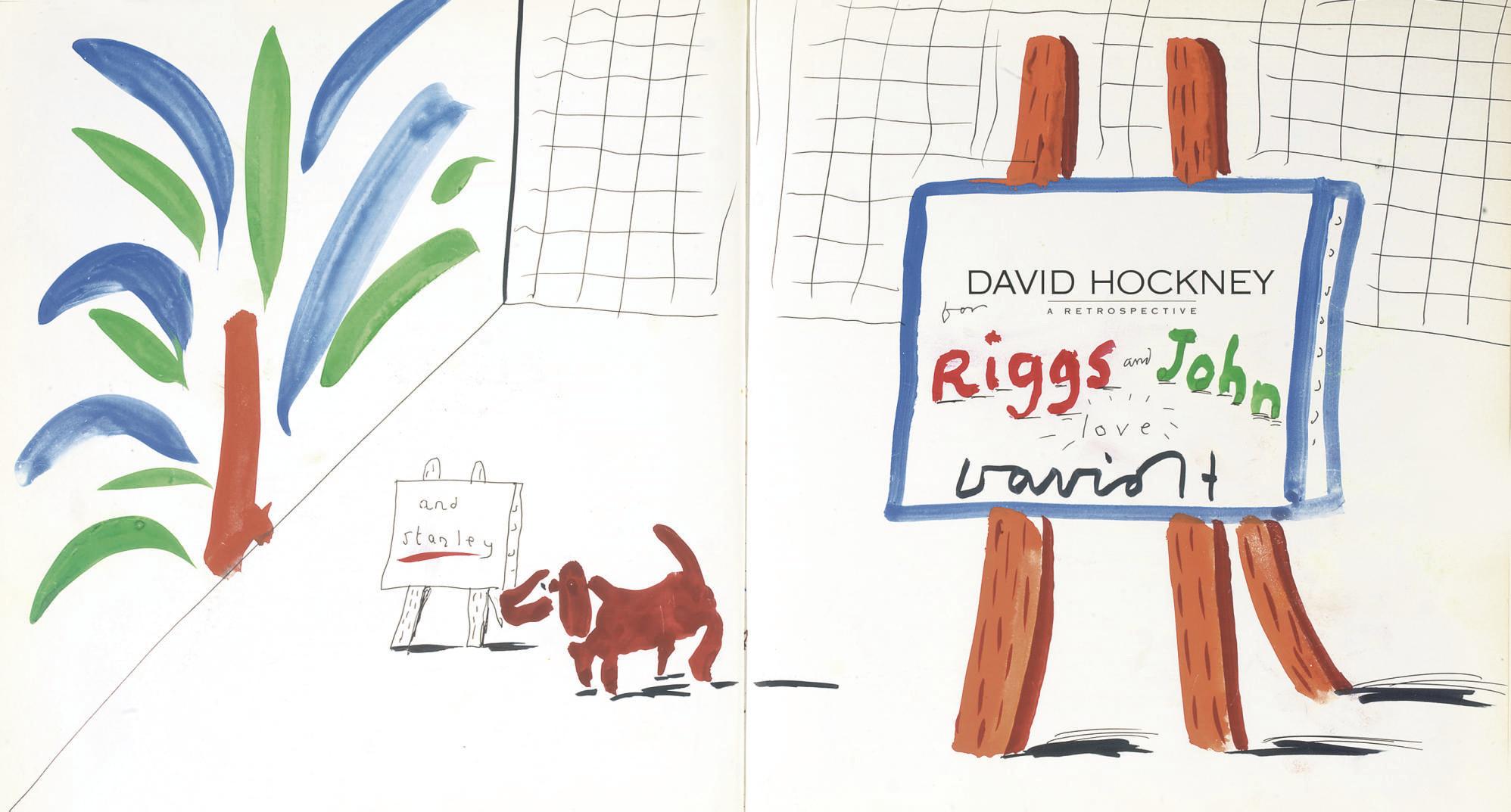 David Hockney, R.A. (b. 1937)