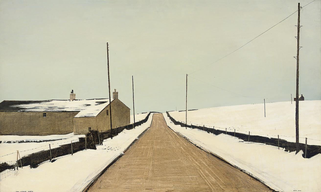 Long Pennine Winter
