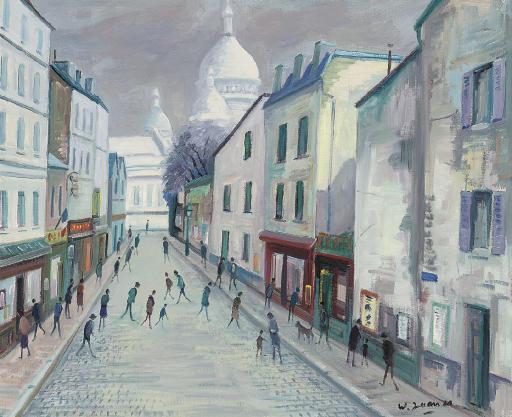 Montmartre et le Sacré Coeur