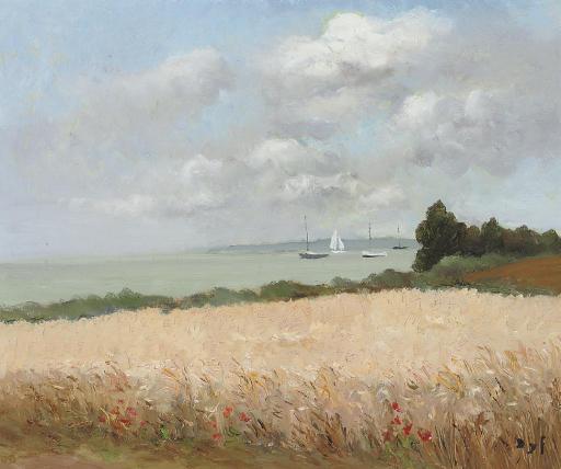 Champs de blé en Bretagne