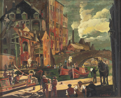 CLARENCE E. BLACKBURN, (BRITISH, 1914-1987)