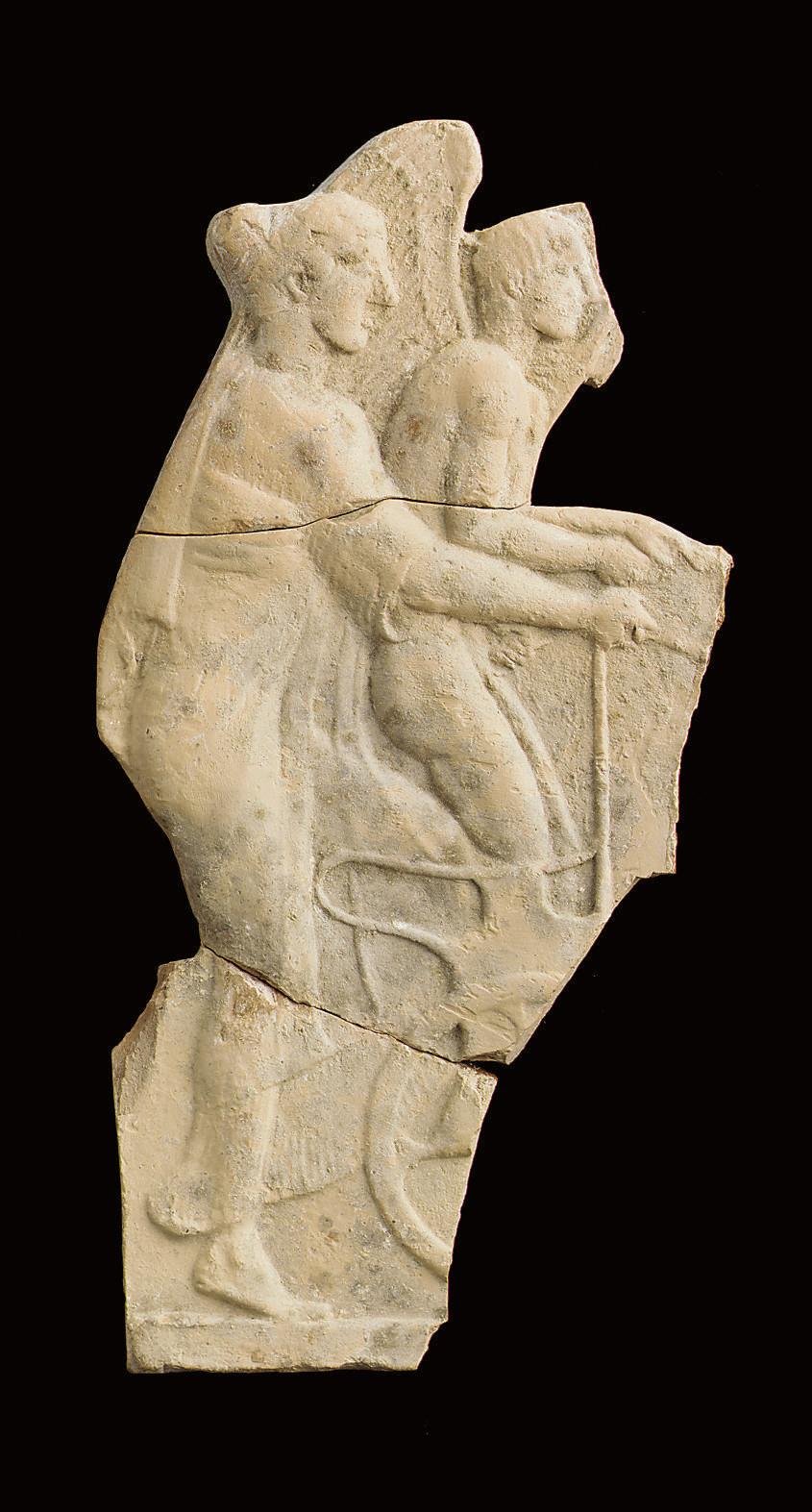 A GREEK MELIAN TERRACOTTA RELI