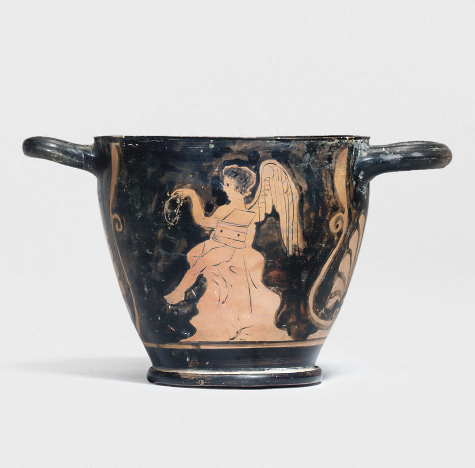 A GREEK RED-FIGURE SKYPHOS