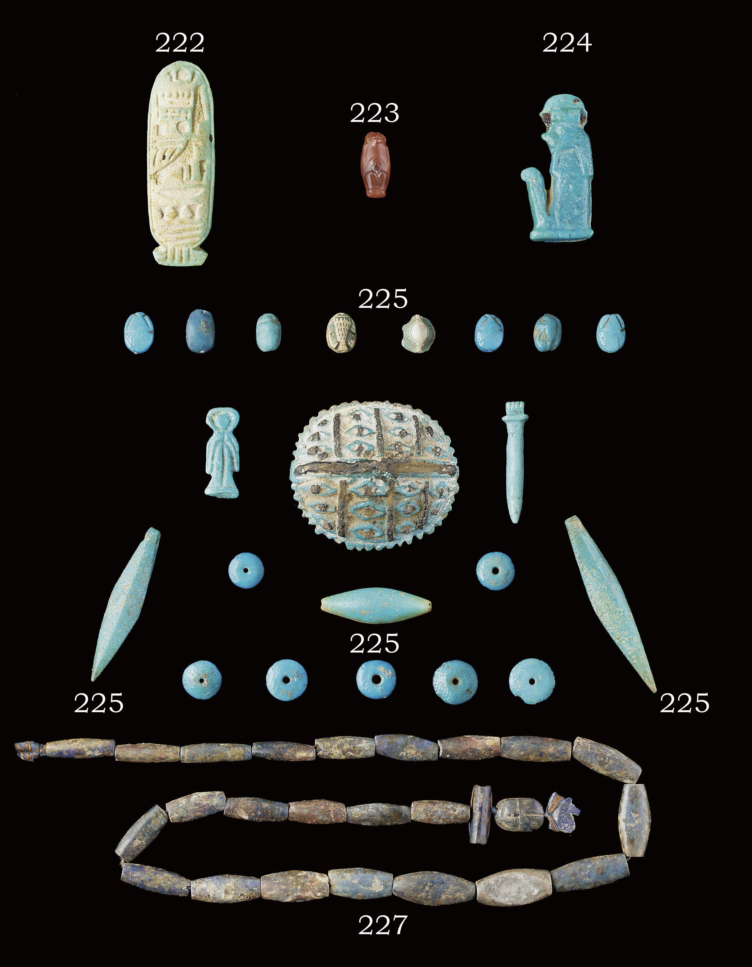 AN EGYPTIAN CORNELIAN MONKEY P
