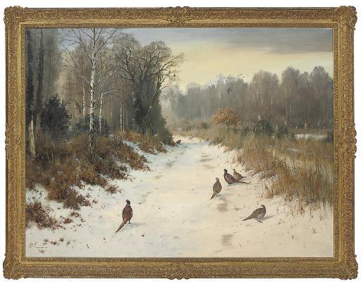 Winter in the ride, Strumpshaw