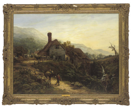 South view of the watermill, Ventnor, Isle of Wight