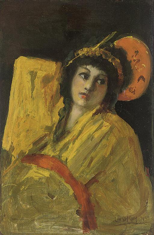 Orientalist girl
