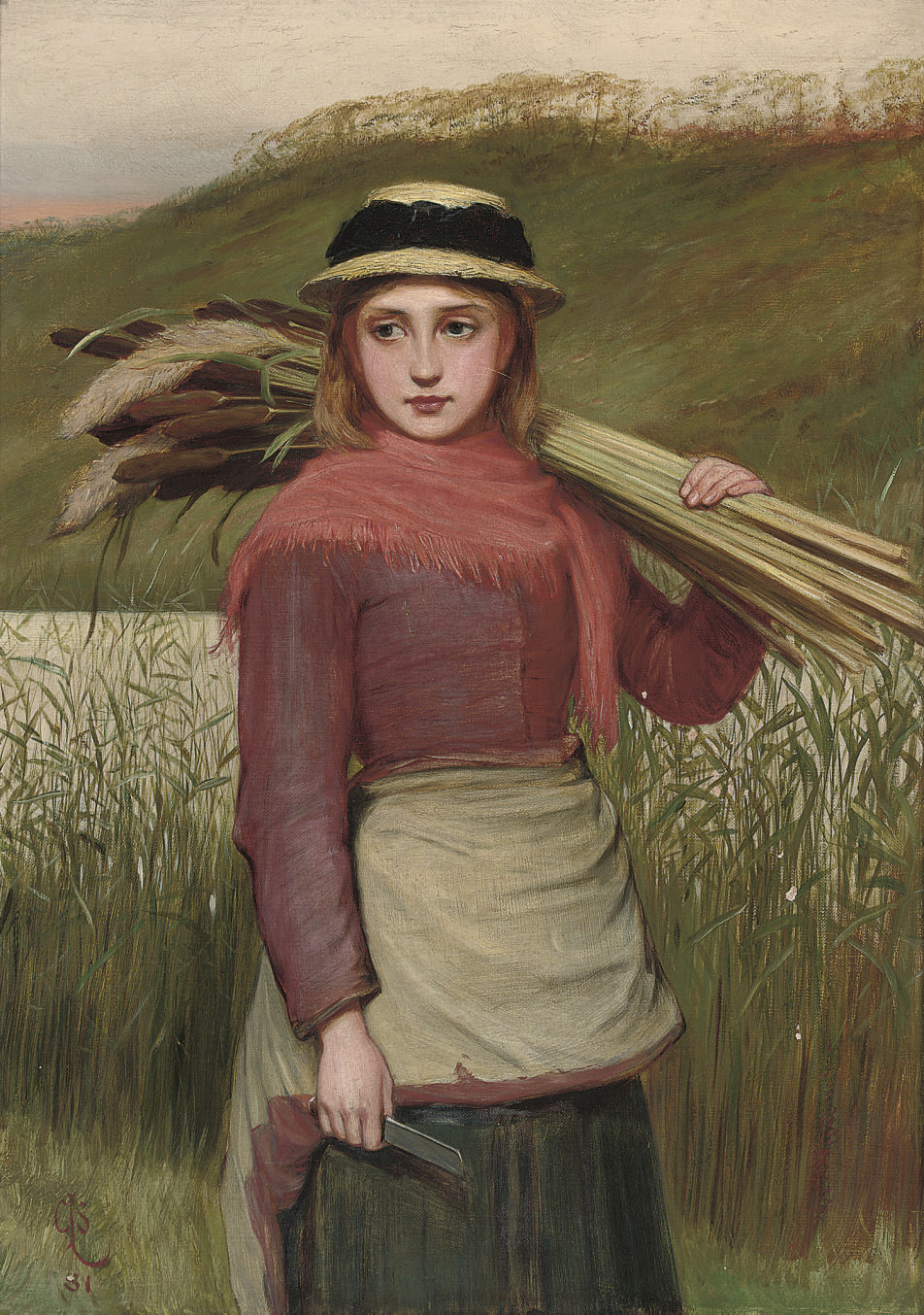 The reed cutter