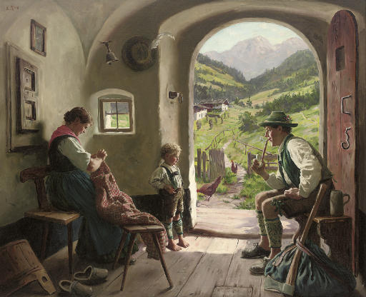 Emil Rau (German, 1858-1937)
