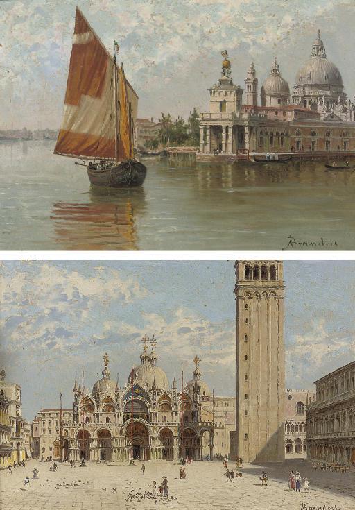 The Doge's Palace, Venice; and St.Marks, Venice.