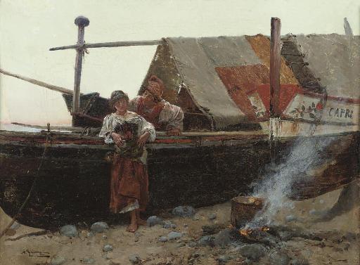 Anselmo De Guinea (Italian, 1855-1906)