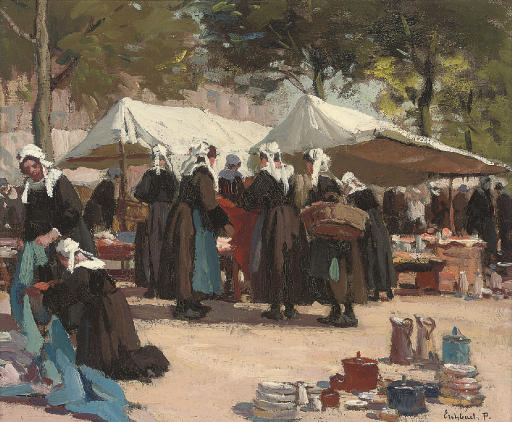 Market day in Brittany