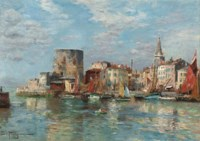 Harbour view of La Rochelle