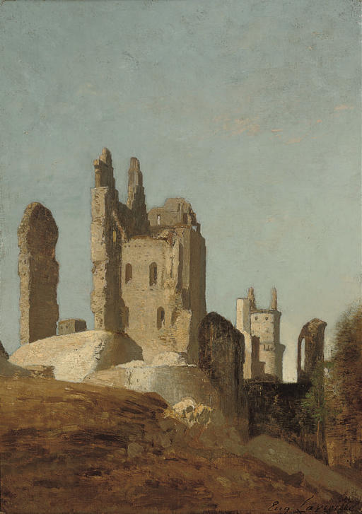 The Pierrefonds ruins