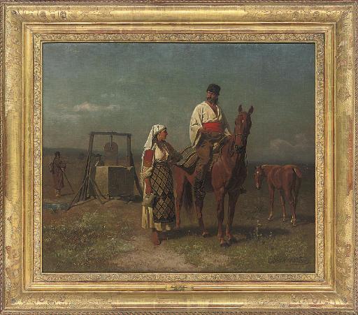 Emil Volkers (German, 1831-190