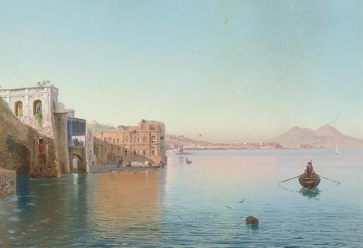Cesare Uva (Italian, 1824-1886