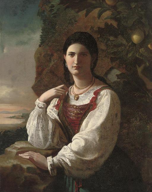 M de Leon (Spanish, 19th Centu
