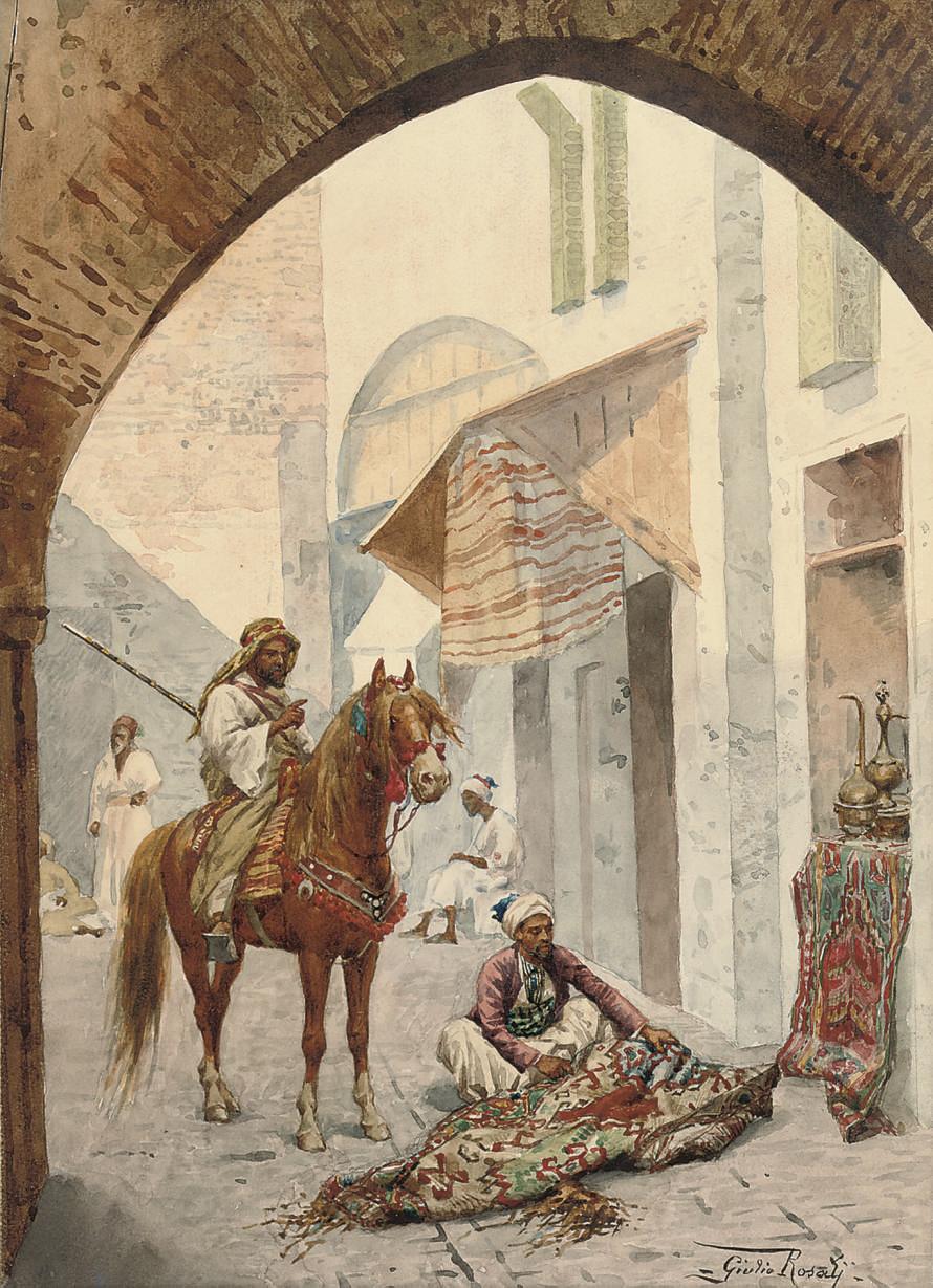 Giulio Rosati (Italian, 1858-1