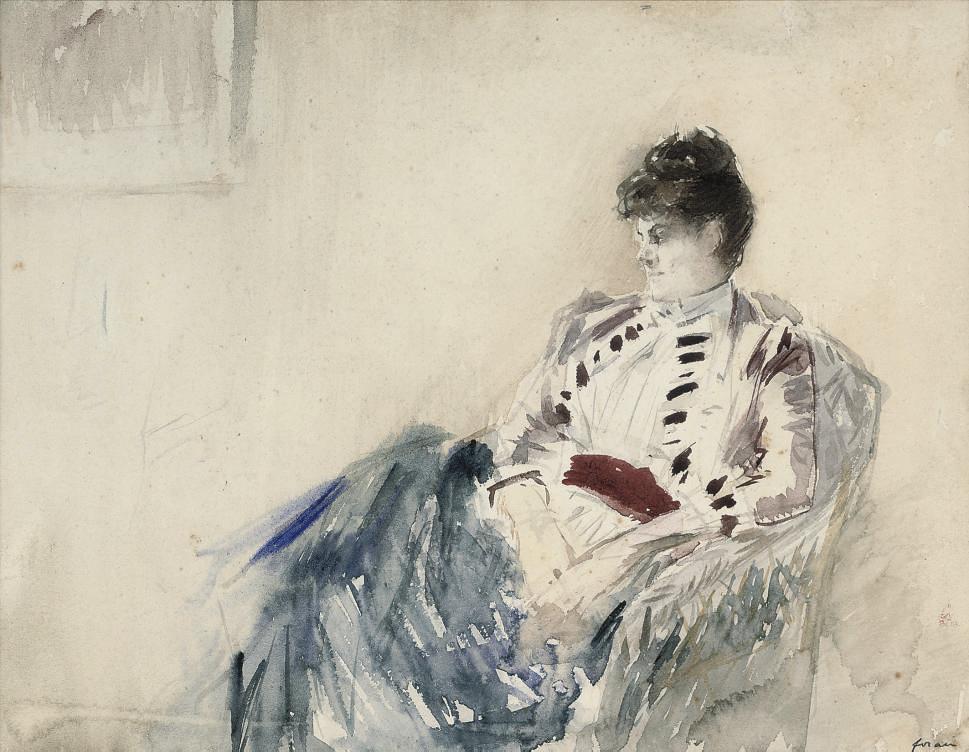 Jean Louis Forain (French, 185