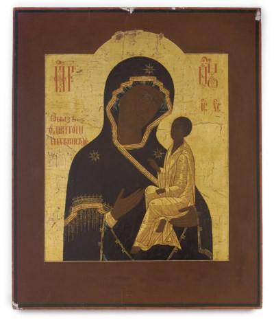 THE MOTHER OF GOD OF TIKHVIN