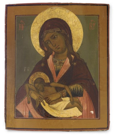 THE MOTHER OF GOD LAMENTING OV