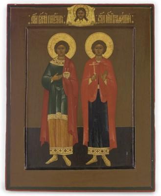 ST. PANTELEIMON AND ST. BONIFA