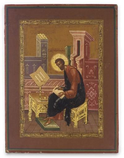 THE EVANGELIST ST. MARK