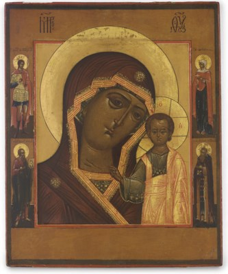 THE MOTHER OF GOD OF KAZAN WIT